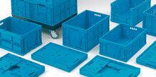 Euronorm foldable crates