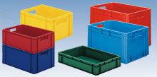 Euronorm stacking containers - coloured