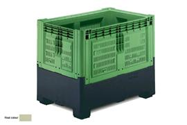 Pallet boxes Collapsible large volume boxes PB-1389F2