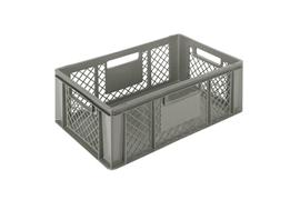 Euronorm stacking containers - grey Euro 600 x 400 mm grey PB-3262