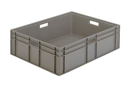 Euronorm stacking containers - grey Euro 800 x 600 mm grey PB-E8623