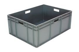 Euronorm stacking containers - grey Euro 800 x 600 mm grey PB-E8632