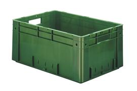 Euronorm stacking containers - coloured Euro 600 x 400 mm coloured PB-6427-SCV