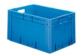 Euronorm stacking containers - coloured Euro 600 x 400 mm coloured PB-6432-SCV