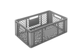 Euronorm stacking containers - grey Euro 600 x 400 mm grey PB-3257