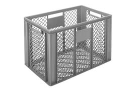 Euronorm stacking containers - grey Euro 600 x 400 mm grey PB-3259