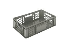 Euronorm stacking containers - grey Euro 600 x 400 mm grey PB-3261
