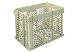 Euronorm stacking containers - grey Euro 600 x 400 mm grey PB-EF6445