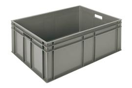 Euronorm stacking containers - grey Euro 800 x 600 mm grey PB-E8631