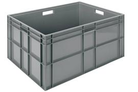 Euronorm stacking containers - grey Euro 800 x 600 mm grey PB-E8641