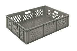 Euronorm stacking containers - grey Euro 800 x 600 mm grey PB-EC8621