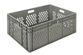 Euronorm stacking containers - grey Euro 800 x 600 mm grey PB-EC8632