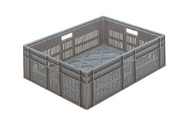 Euronorm stacking containers - grey Euro 800 x 600 mm grey PB-EF8623