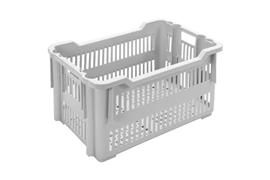 Nestable and stackable crates Various turn-stack crates PB-613
